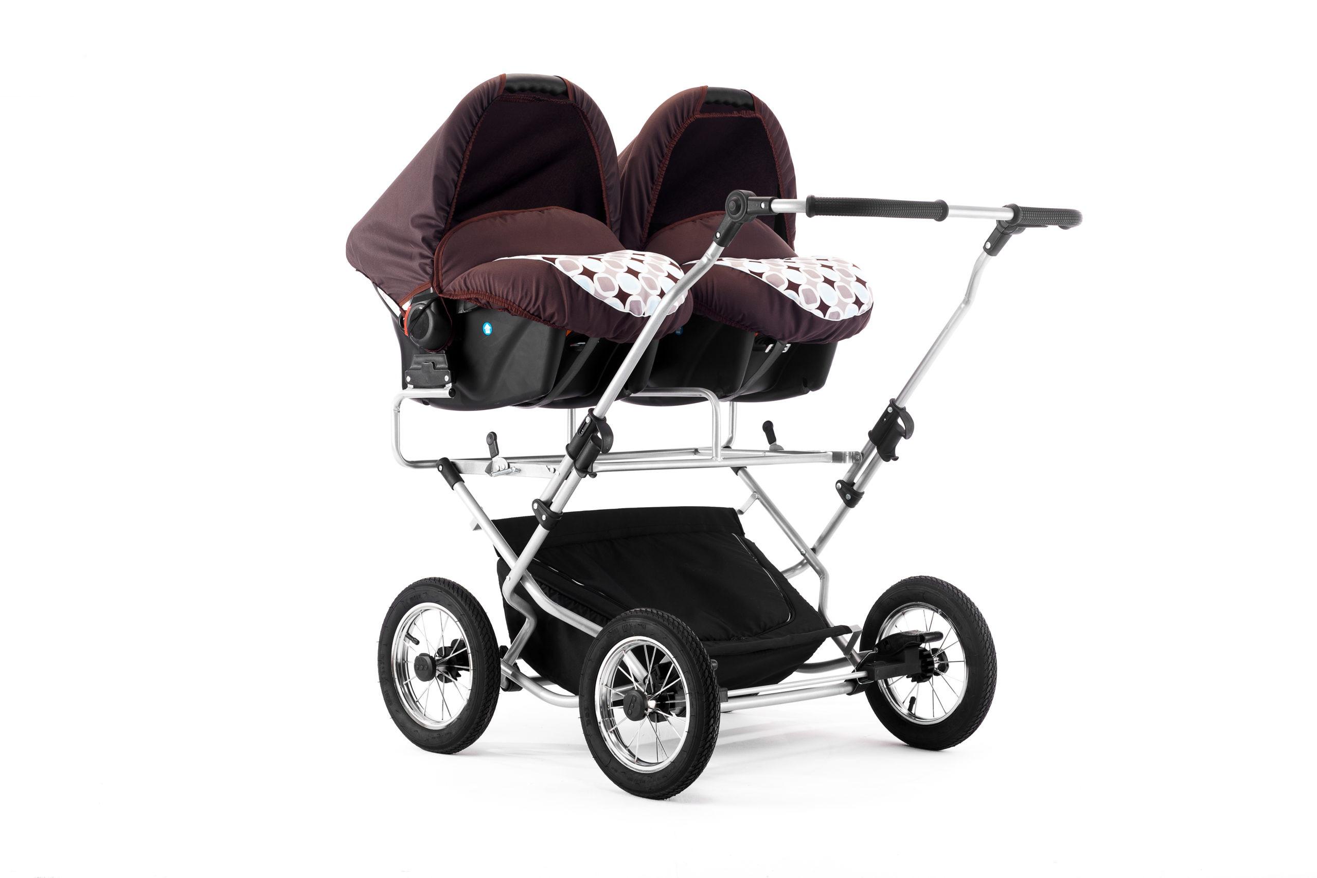 Wózek bliźniaczy 3w1Duet Sorento