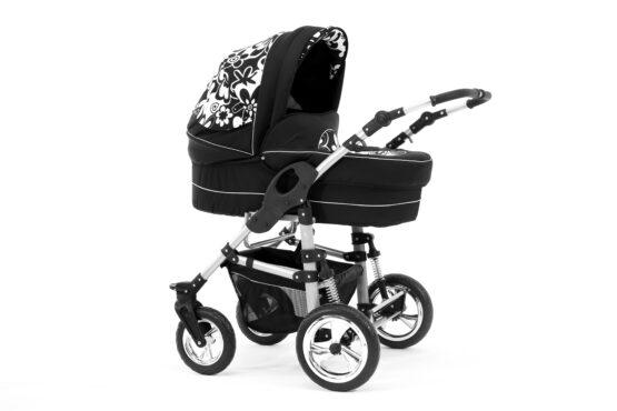 Wózek dziecięcy głęboko-spacerowy 2w1 Navara